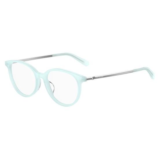 Moschino MOL536/F - MVU  Azzurro | Occhiale Da Vista Donna