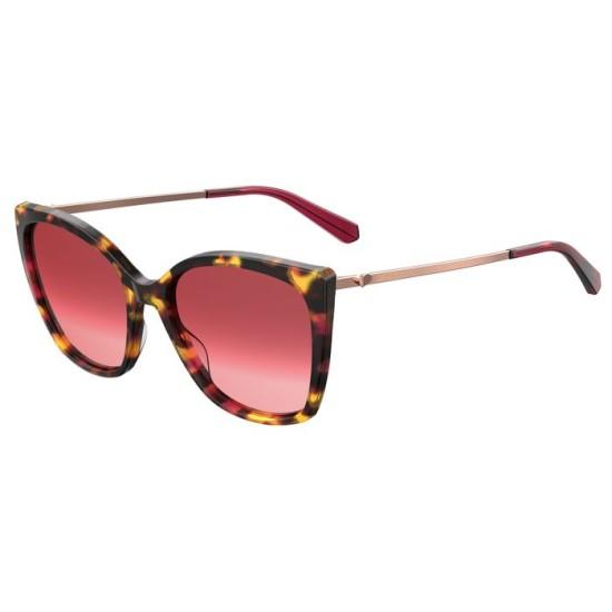 Moschino MOL018/S - HK3 3X Avana Miele Ciliegia   Occhiale Da Sole Donna