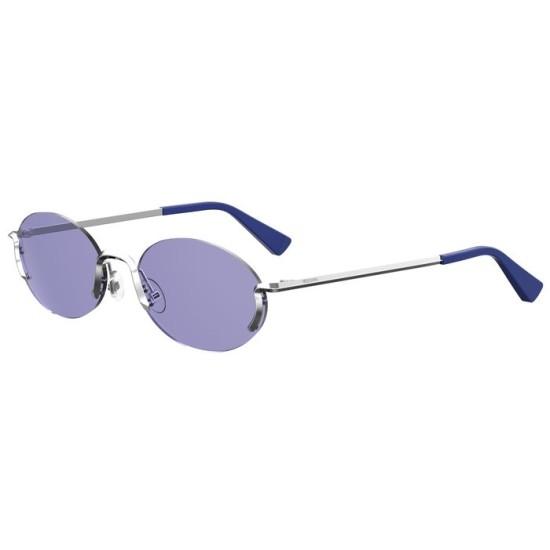 Moschino MOS055/S - SCB UR Blu Argento | Occhiale Da Sole Donna