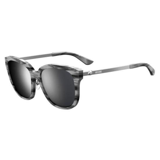 Moschino MOS058/F/S - 79D T4 Nero Argento | Occhiale Da Sole Donna