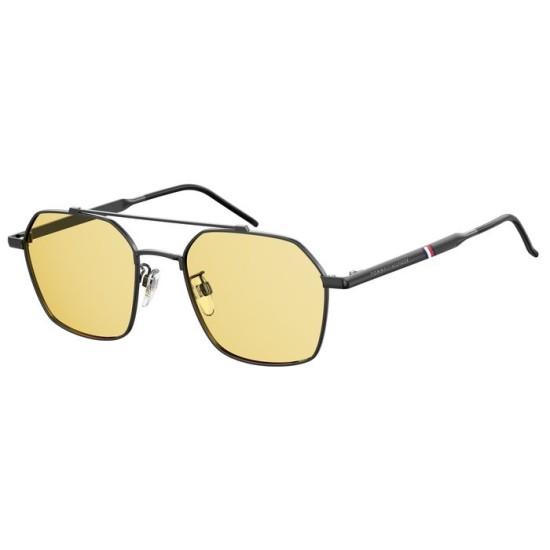 Tommy Hilfiger TH 1676/G/S - V81 HO Dk Ruthen Nero | Occhiale Da Sole Uomo