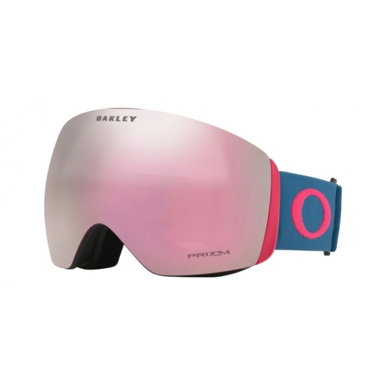 Oakley Goggles OO 7050 Flight Deck 705070 Poseidon Strong Red | Maschere Da Sci Unisex