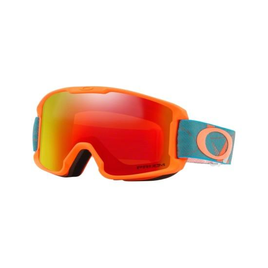 Oakley Goggles OO 7095 Line Miner Youth 709514 Prizmatic Org Sea | Maschere Da Sci Unisex