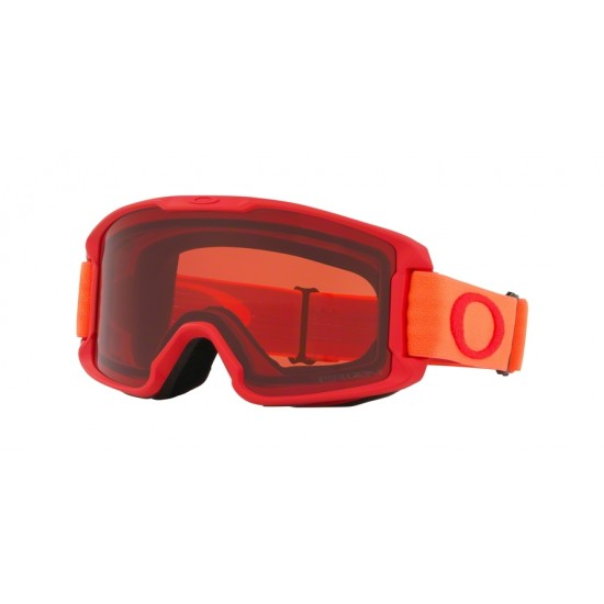 Oakley Goggles OO 7095 Line Miner Youth 709520 Red Neon Orange | Maschere Da Sci Unisex