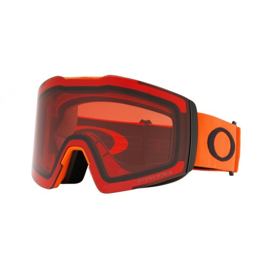 Oakley Goggles OO 7099 Fall Line Xl 709914 Neon Orange Black