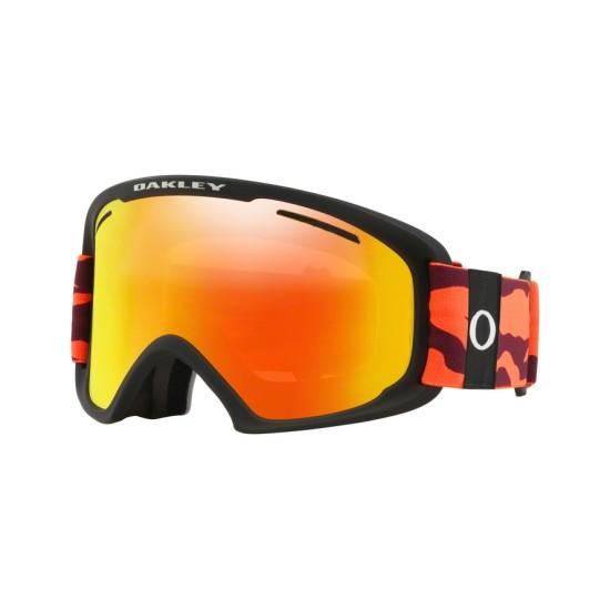 Oakley Goggles OO 7112 O Frame 2.0 Pro Xl 711205 Neon Orange Camo