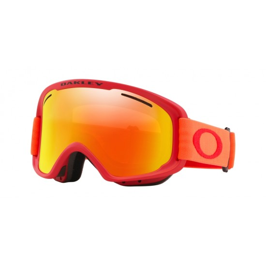 Oakley Goggles OO 7113 O Frame 2.0 Pro Xm 711309 Red Neon Orange | Maschere Da Sci Unisex