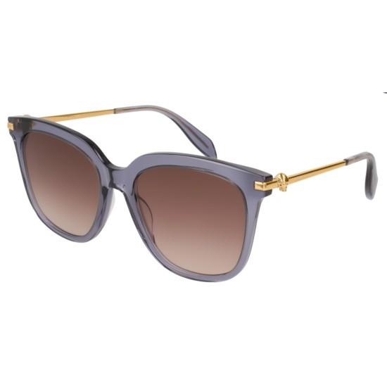 Alexander McQueen AM0107S - 005 Blu | Occhiale Da Sole Donna