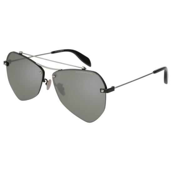 Alexander McQueen AM0121SA - 002 Nero | Occhiale Da Sole Unisex