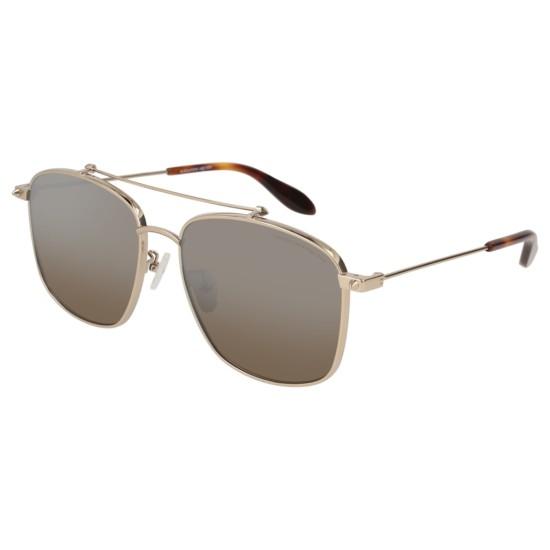 Alexander McQueen AM0124SK - 003 Oro | Occhiale Da Sole Donna