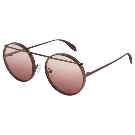 Alexander McQueen AM0137S - 004 Marrone | Occhiale Da Sole Unisex