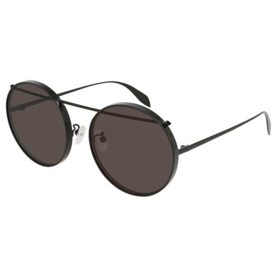 Alexander McQueen AM0137SA - 002 Nero | Occhiale Da Sole Unisex