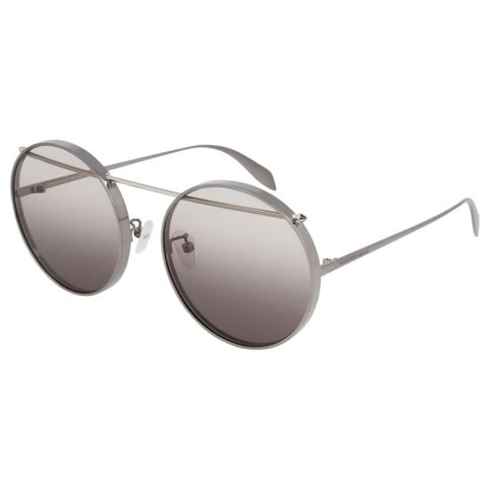 Alexander McQueen AM0137SA - 003 Rutenio | Occhiale Da Sole Unisex