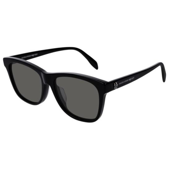Alexander McQueen AM0158SA - 001 Nero | Occhiale Da Sole Unisex