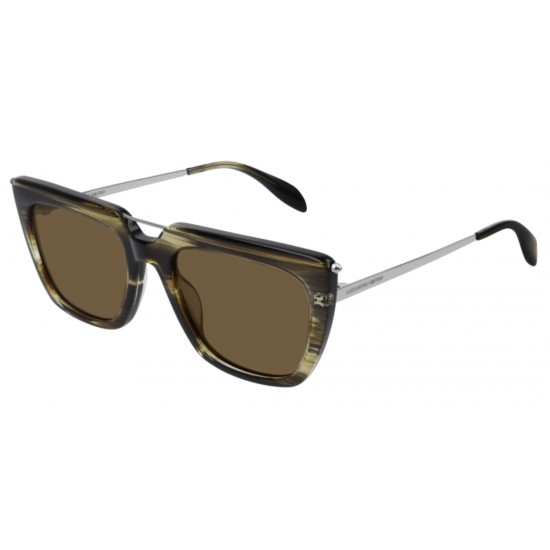 Alexander McQueen AM0169S - 003 Marrone