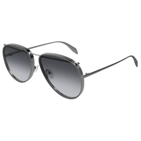 Alexander McQueen AM0170S - 003 Rutenio   Occhiale Da Sole Unisex