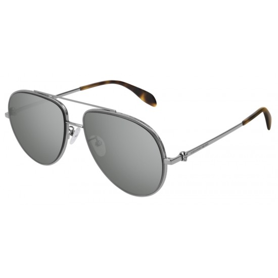 Alexander McQueen AM0172S - 002 Rutenio | Occhiale Da Sole Unisex