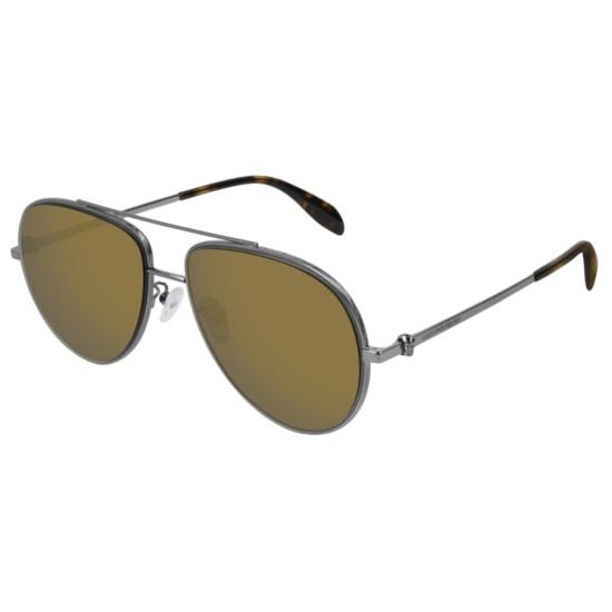 Alexander McQueen AM0172S - 004 Rutenio | Occhiale Da Sole Unisex