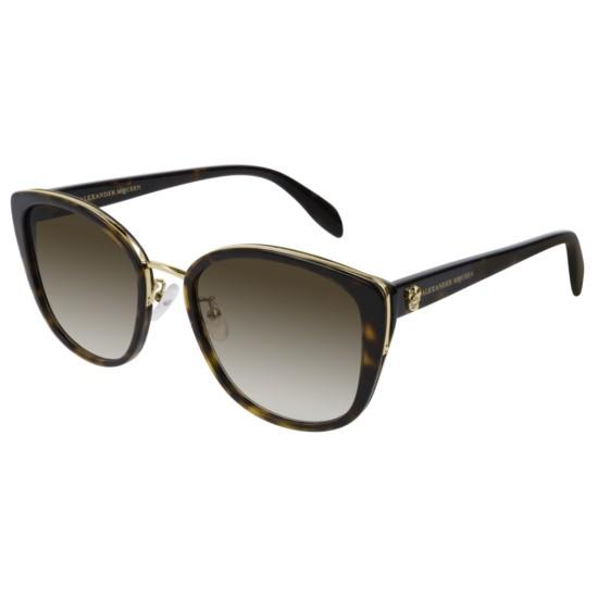 Alexander McQueen AM0186SK - 002 Oro | Occhiale Da Sole Donna