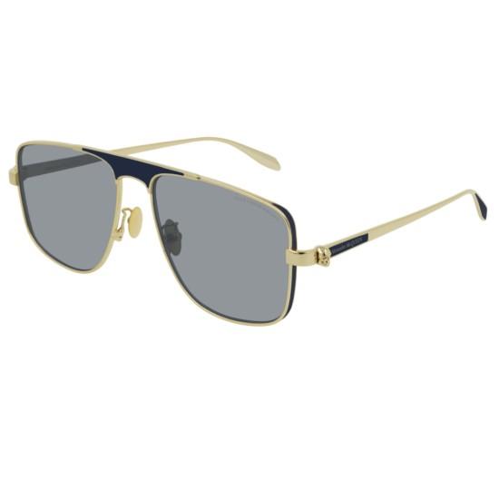 Alexander McQueen AM0200S - 004 Oro   Occhiale Da Sole Uomo