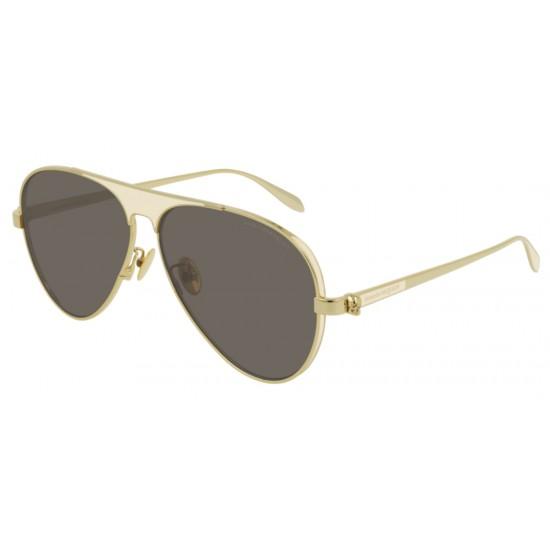 Alexander McQueen AM0201S - 005 Oro | Occhiale Da Sole Unisex