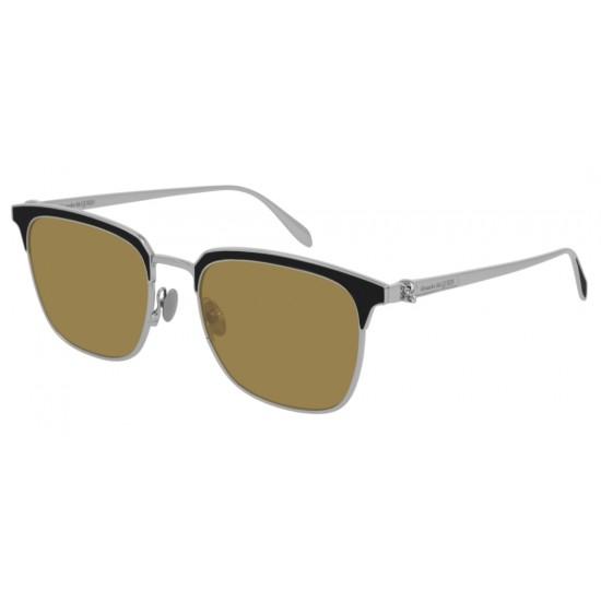 Alexander McQueen AM0202S - 002 Argento | Occhiale Da Sole Unisex