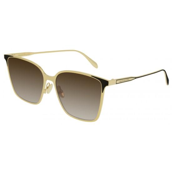 Alexander McQueen AM0205S - 003 Oro | Occhiale Da Sole Donna