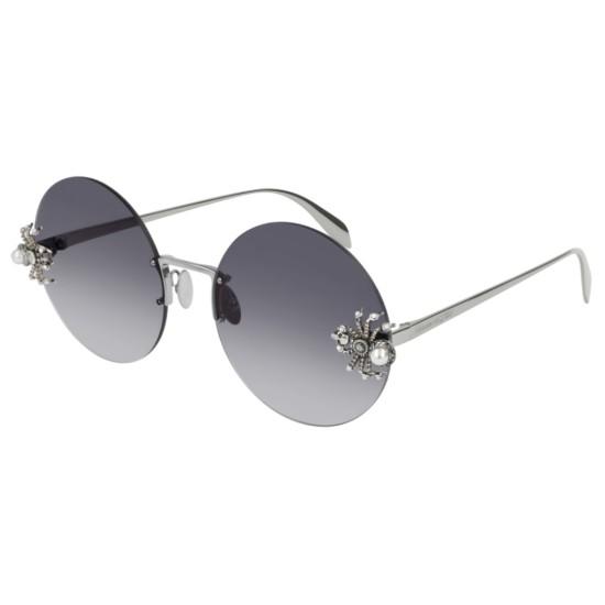Alexander McQueen AM0207S - 001 Rutenio   Occhiale Da Sole Donna