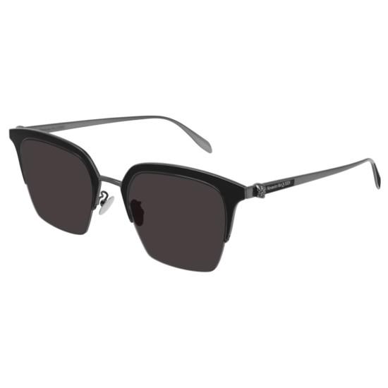 Alexander McQueen AM0213SA - 001 Rutenio   Occhiale Da Sole Unisex