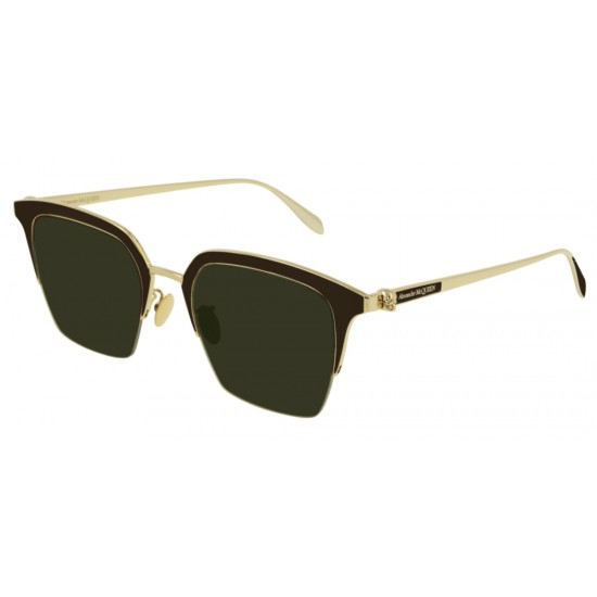 Alexander McQueen AM0213SA - 002 Oro | Occhiale Da Sole Unisex