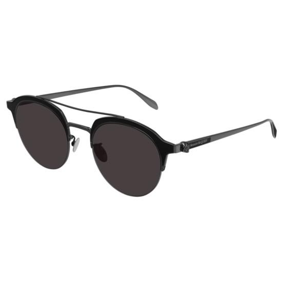 Alexander McQueen AM0214SA - 001 Rutenio   Occhiale Da Sole Unisex