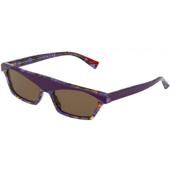 Alain Mikli A0 5055 N°851 005/73 Tartaruga Viola / Viola Maculato | Occhiale Da Sole Unisex