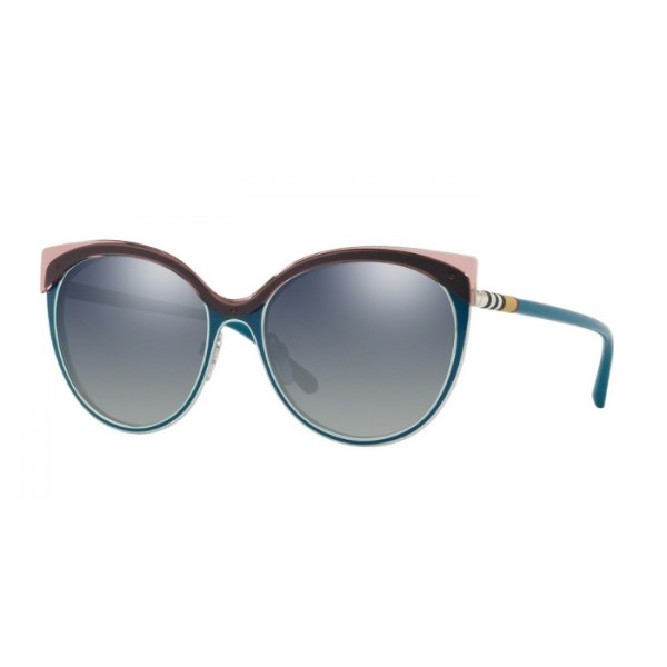 Burberry BE 3096 - 12641G Turchese / Argento