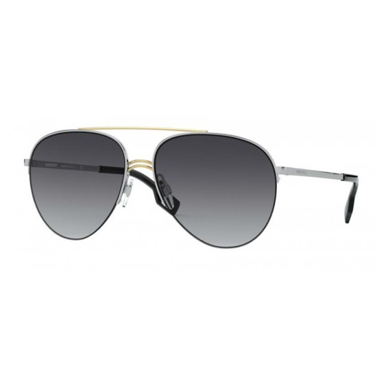 Burberry BE 3113 - 13038G Argento Oro | Occhiale Da Sole Donna