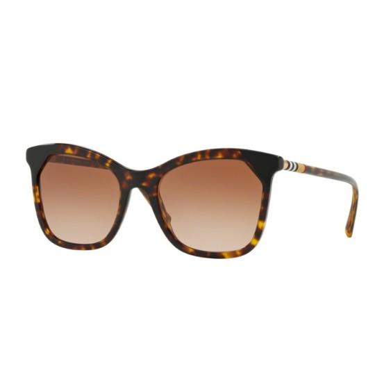 Burberry BE 4263 - 370813 Avana Scuro / Nero | Occhiale Da Sole Donna