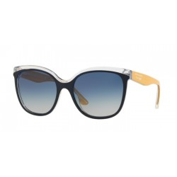 Burberry BE 4270 - 37324L Superiore Blu Su Trasparente