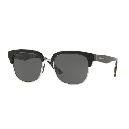 Burberry BE 4272 - 373587 Argento Nero