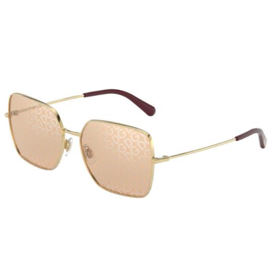 Dolce & Gabbana DG 2242 - 02/02 Oro | Occhiale Da Sole Donna