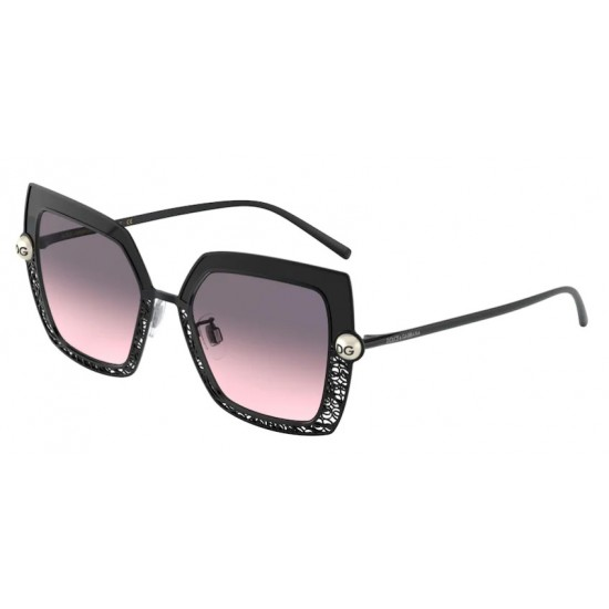 Dolce & Gabbana DG 2251H - 13405M Nero / Grigio | Occhiale Da Sole Donna