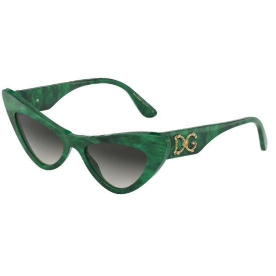Dolce & Gabbana DG 4368 - 32308G Verde Malachite | Occhiale Da Sole Donna