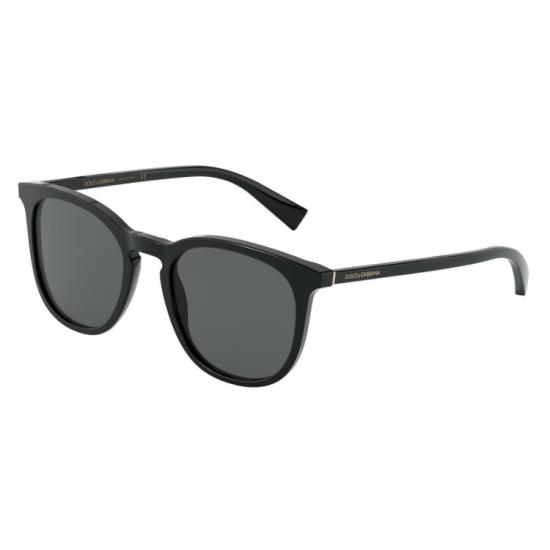 Dolce & Gabbana DG 4372 - 501/87 Nero   Occhiale Da Sole Uomo
