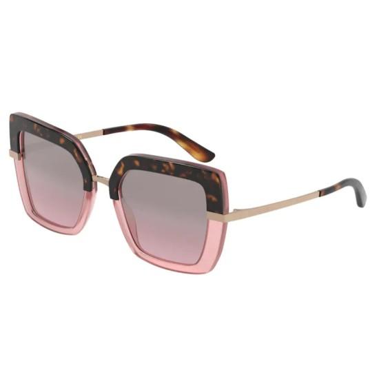 Dolce & Gabbana DG 4373 - 32487E Top Havana Su Rosa Opale | Occhiale Da Sole Donna