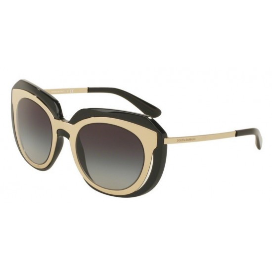 Dolce & Gabbana DG 6104 5018G Oro Pallido Nero