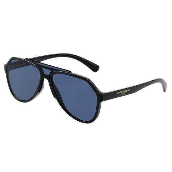 Dolce & Gabbana DG 6128 - 501/80 Nero | Occhiale Da Sole Uomo