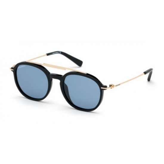 Dsquared2 DQ 0309  Dustin 01V Nero Lucido