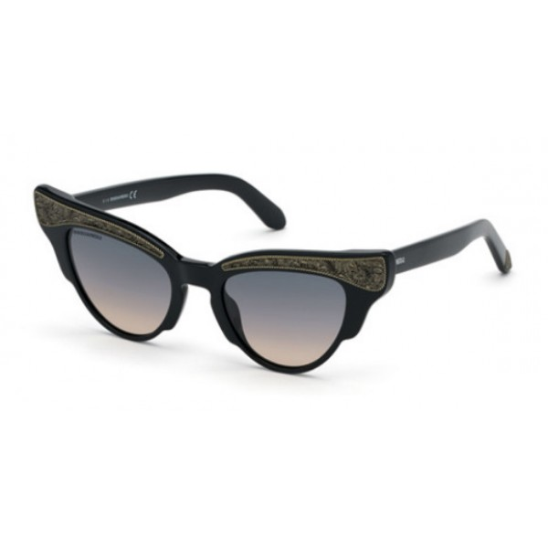 Dsquared2 DQ 0313 Dolly 01B Nero Lucido