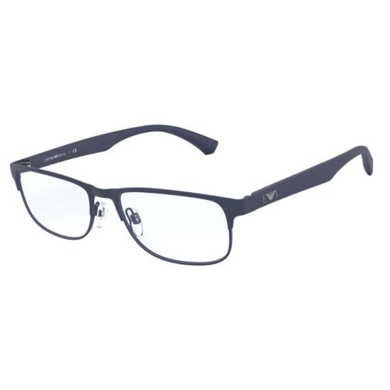 Emporio Armani EA 1096 - 3003 Blu Opaco | Occhiale Da Vista Uomo