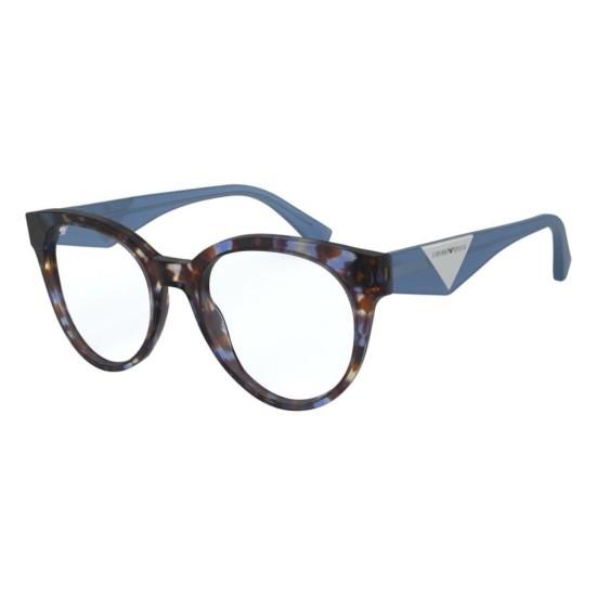 Emporio Armani EA 3160 - 5797 Avana Blu   Occhiale Da Vista Donna