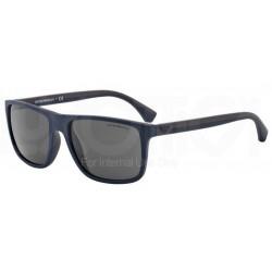 Emporio Armani EA 4033 - 523087 Gomma Blu / Marrone Superiore