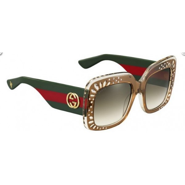 Gucci 3862-S Yl5 Db Marrone Verde